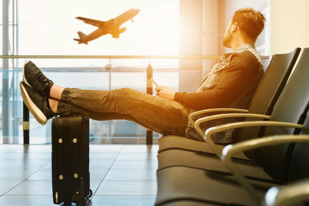 slapper av før reise