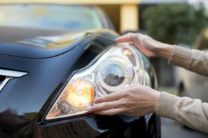 sjekk bilen før du setter den fra deg
